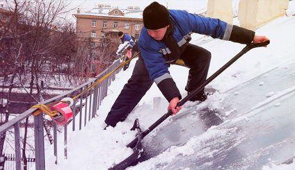 Инструкции по охране труда очистка крыш от снега